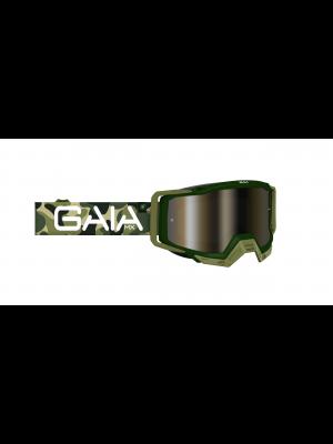 Óculos GaiaMX PRO para motocross e trilhas (goggle) ARMY PRO
