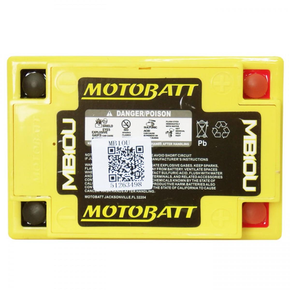 bateria MB10U motobatt