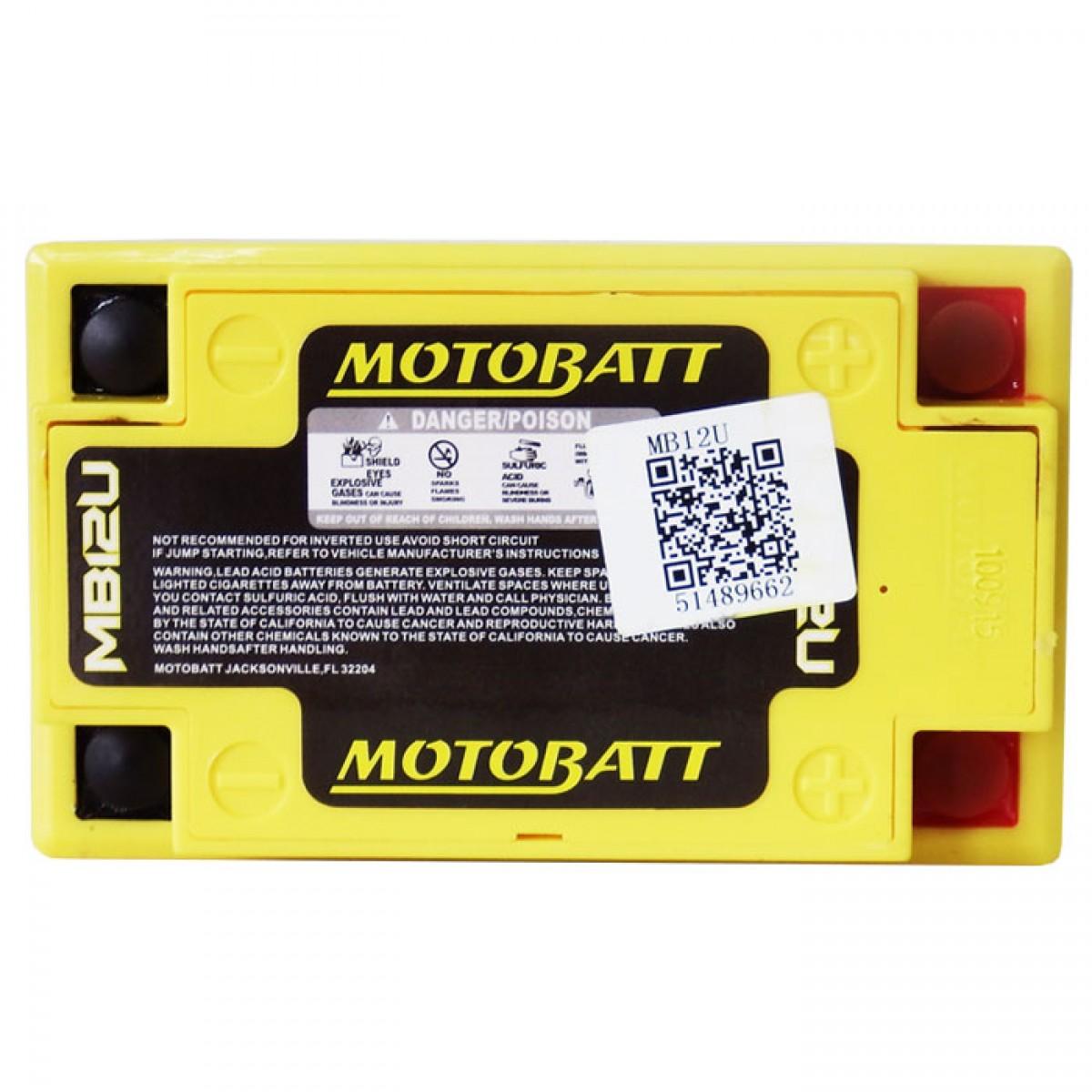 bateria MB12U motobatt