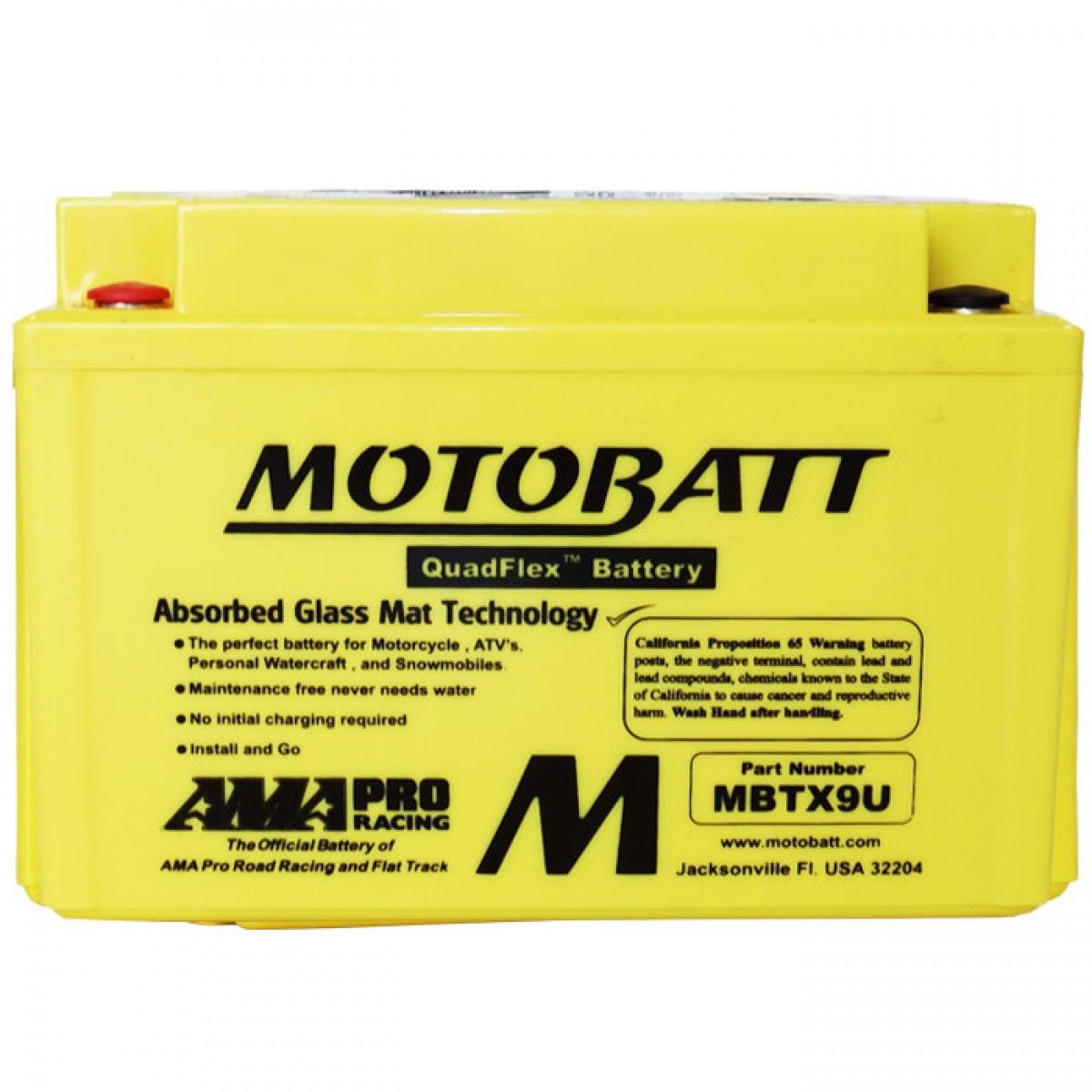 bateria MBTX9U motobatt