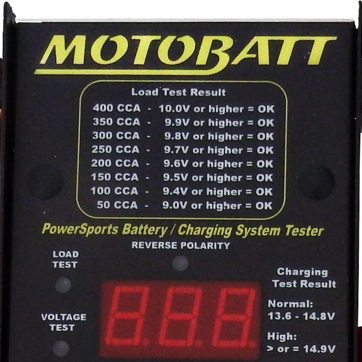 testador de bateria motobatt