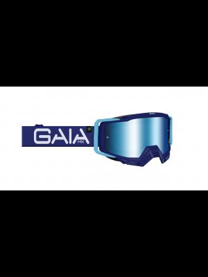 Óculos GaiaMX PRO para motocross e trilhas (goggle) BLUE HAZE PRO