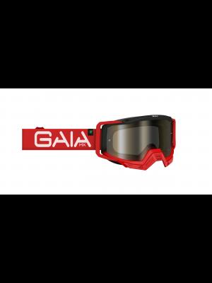 Óculos GaiaMX PRO para motocross e trilhas (goggle) RED PRO